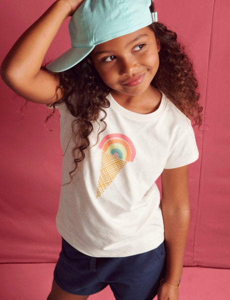 Rainbow Ice Cream Scoop Tee