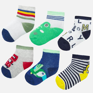 SET OF 6 SOCKS