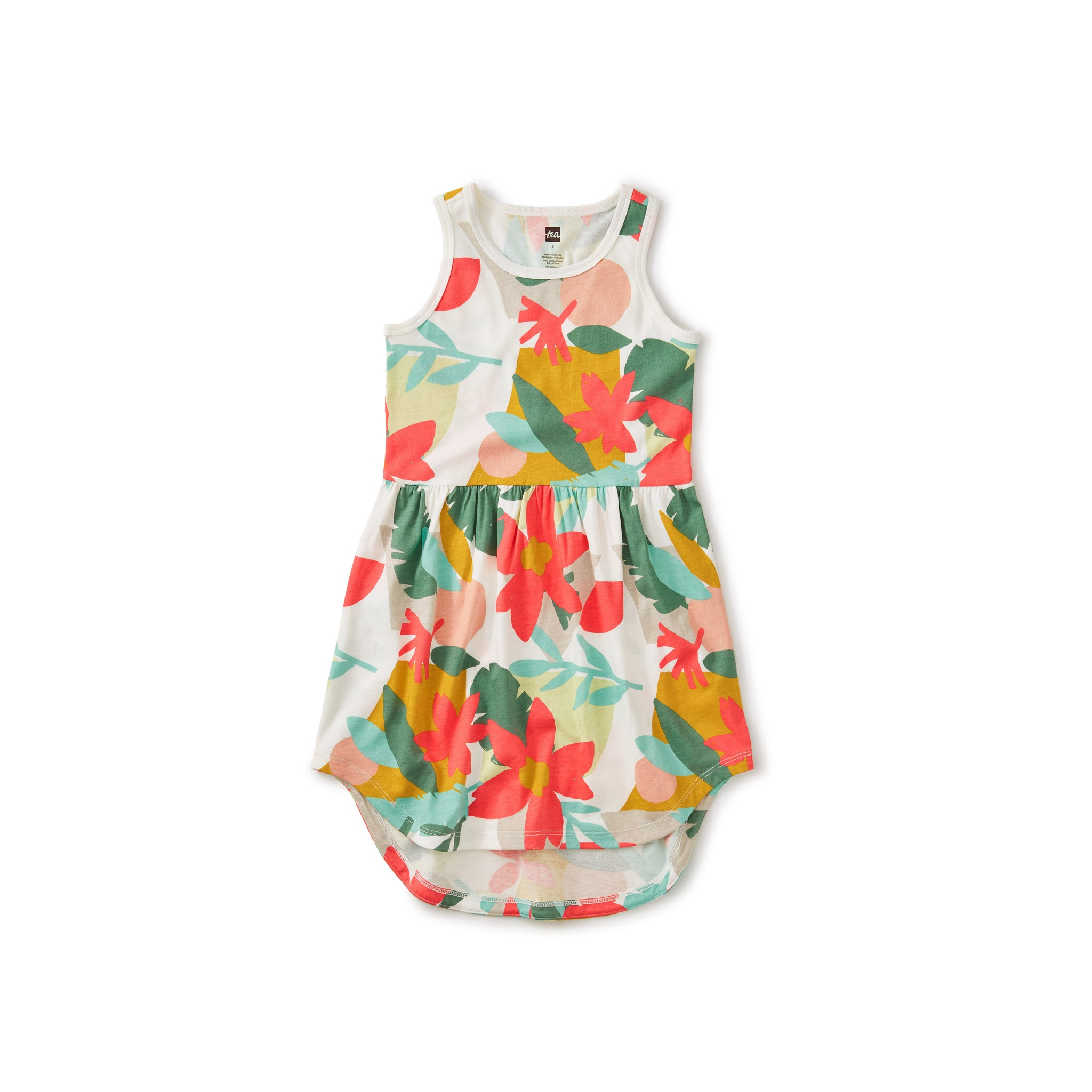 Skirted Tank Dress/Oasis Floral