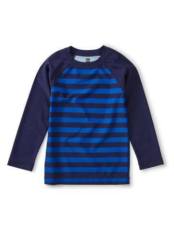 PRINTED LS RASH GUARD/STRIPE/NIGHTFALL