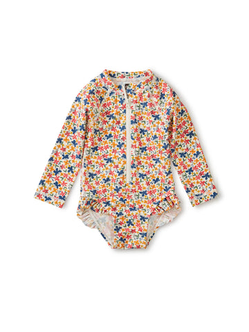 BABY RASH GUARD ONE PIECE/CYPRUS FLORAL
