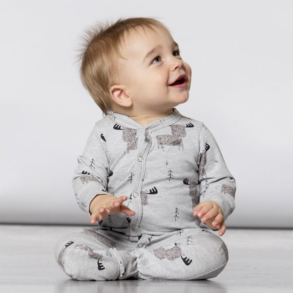 Moose Organic One Piece Pajama