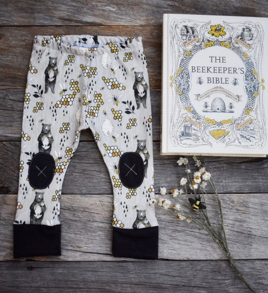 Alpine Baby Leggings/HoneyBear