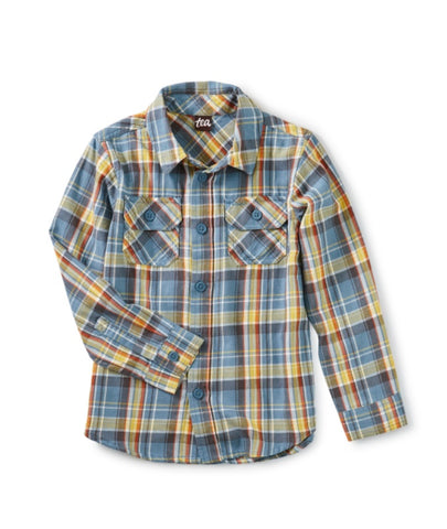 Plaid Button Up/Huascaran Plaid