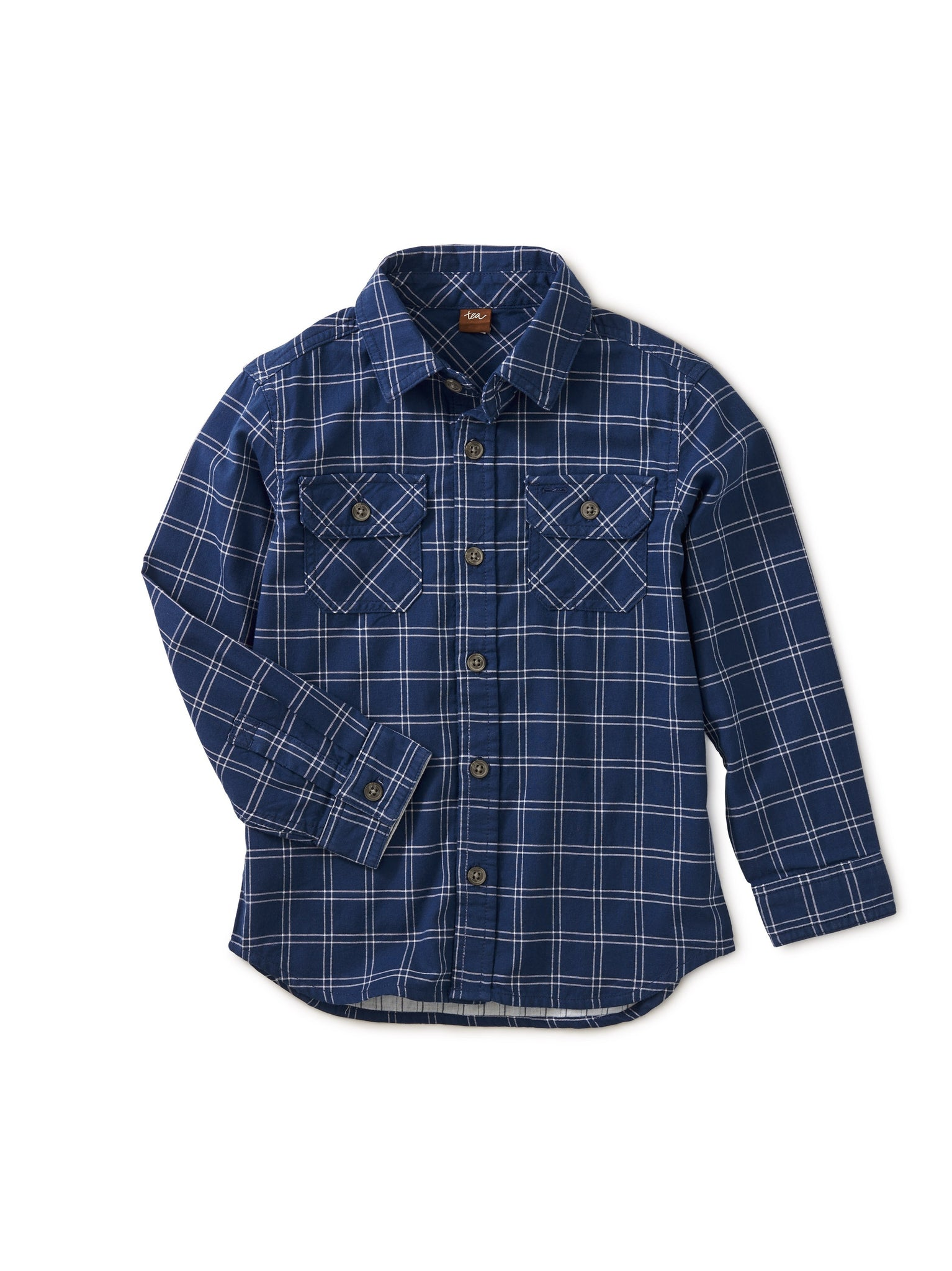 Plaid Button Up/Annapurna Double Weave