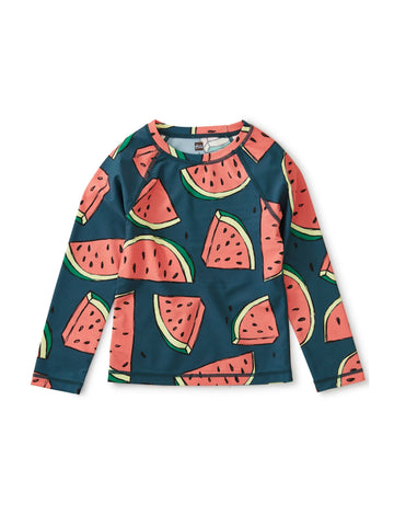 LONG SLEEVE RASH GUARD/WATERMELONS