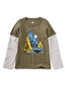 Discovery Layered Graphic Tee