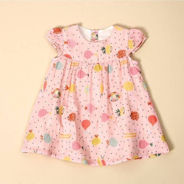 Cap Sleeve Baby Dress and Bloomer
