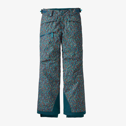 Girls' Snowbelle Snow Pants/Barn Dance Multi: Crater Blue