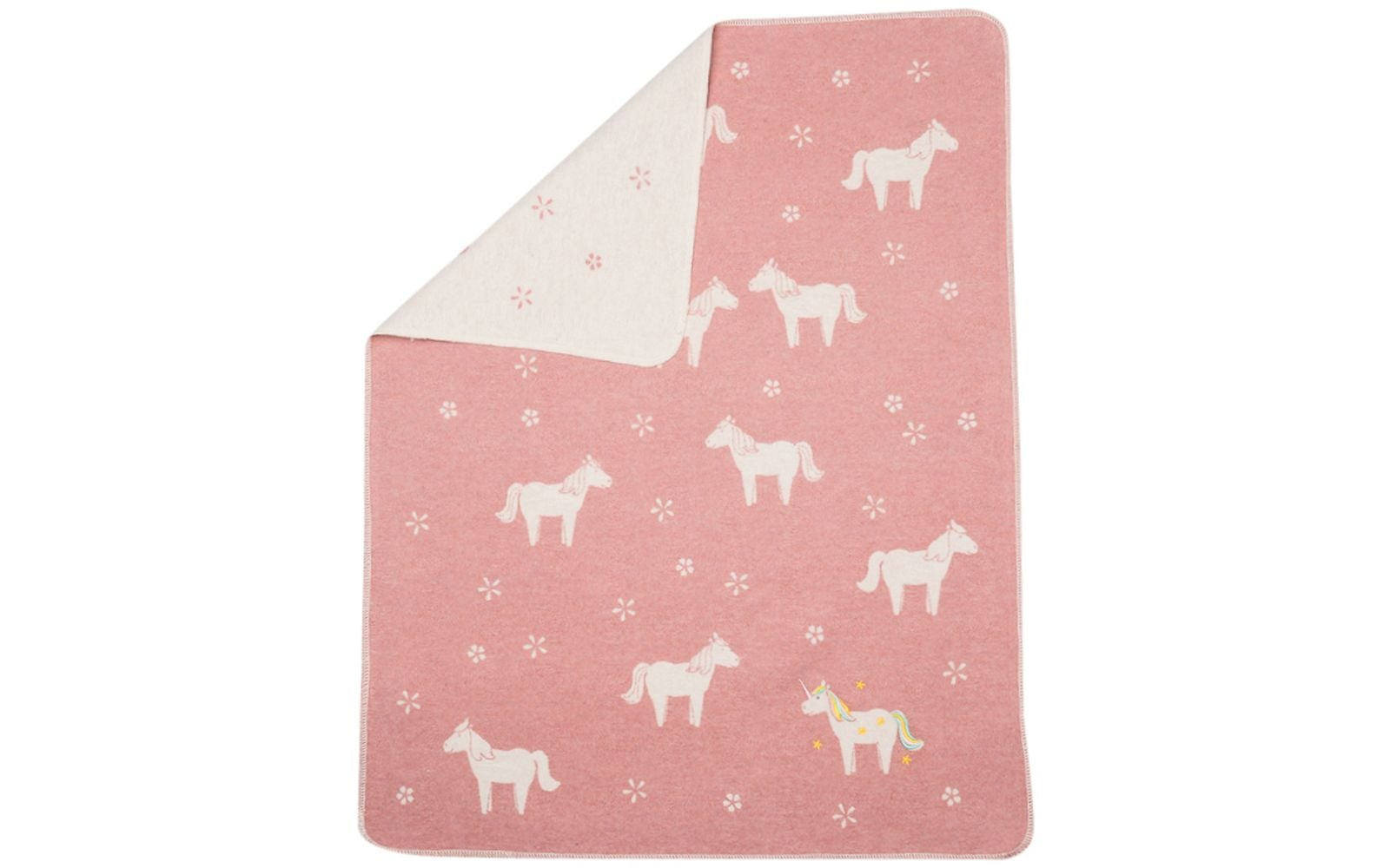 Juwel Blanket/Unicorns/Rouge