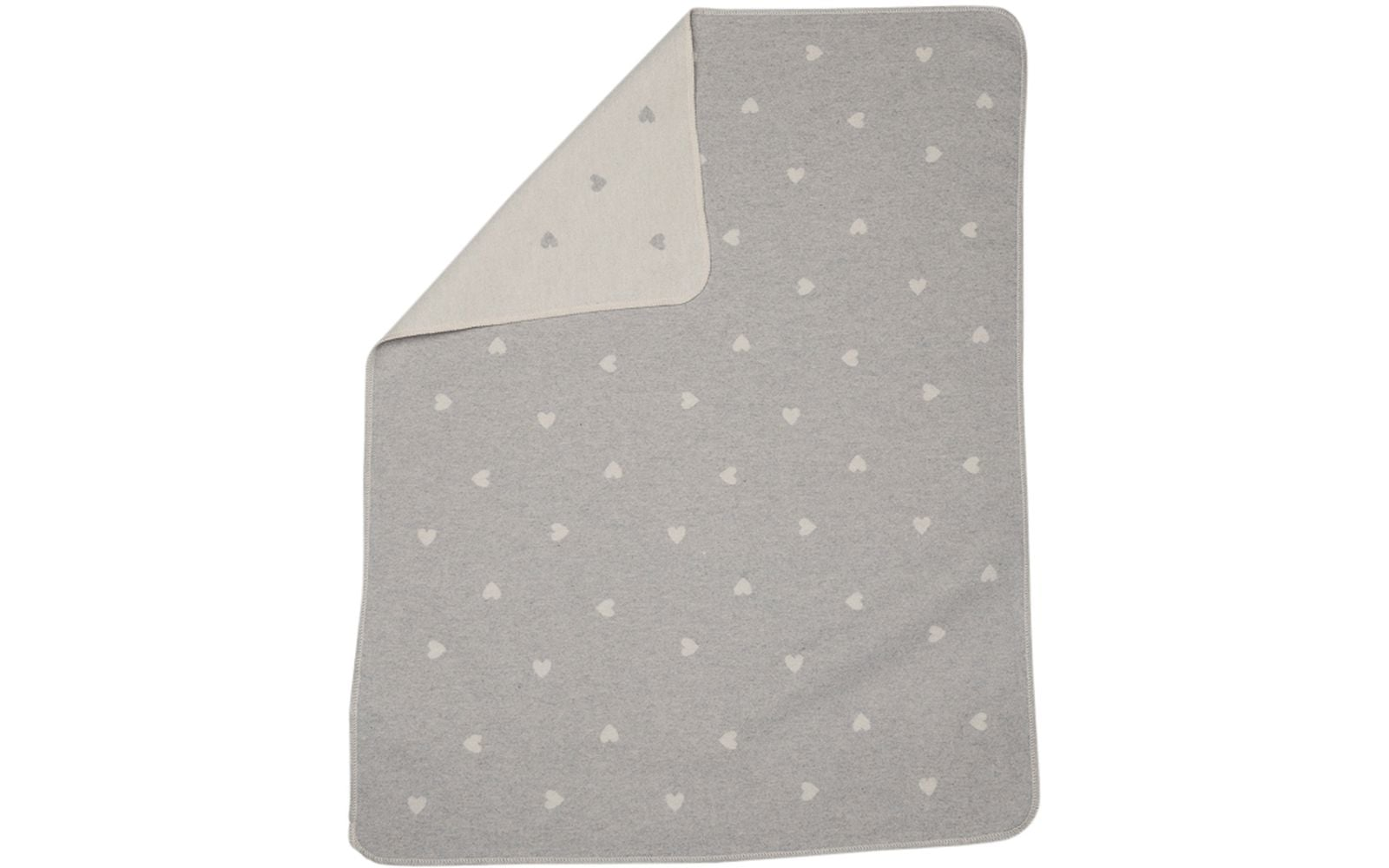Juwel Blanket/All Over Hearts/Grey