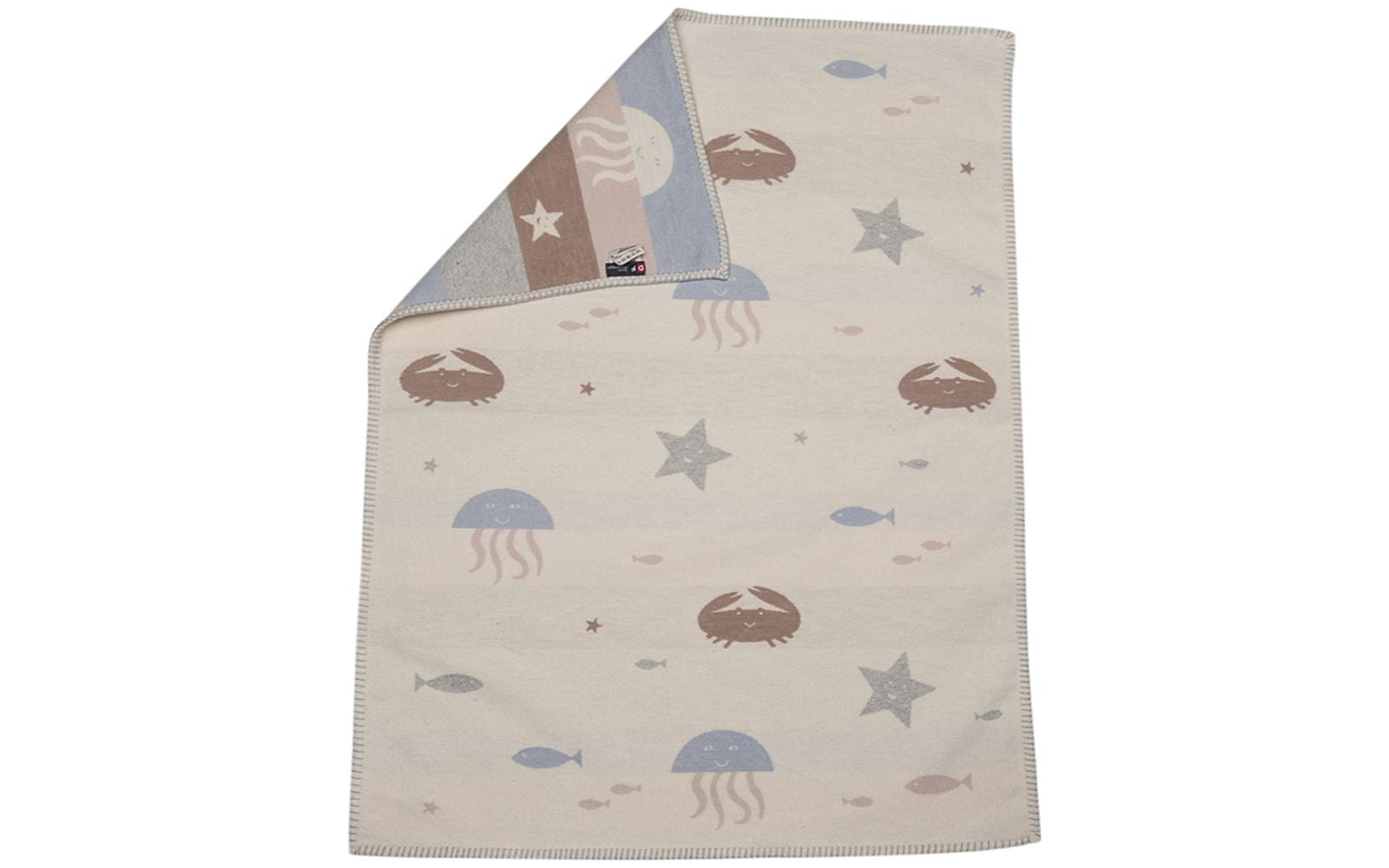 Lena Blanket/Sealife/Beige