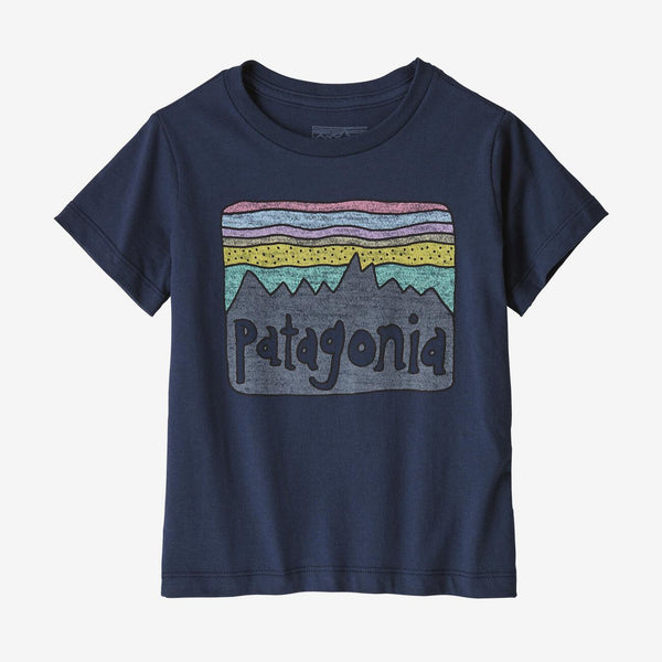 Baby Fitz Roy Skies  Organic Cotton T-Shirt