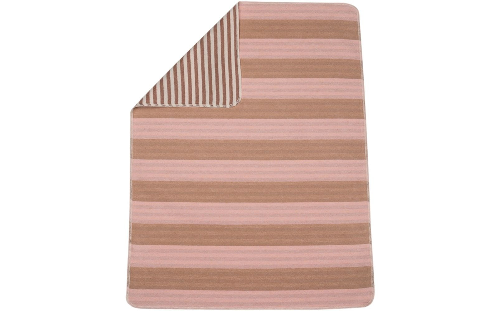 Juwel Blanket/Stripes/Pink