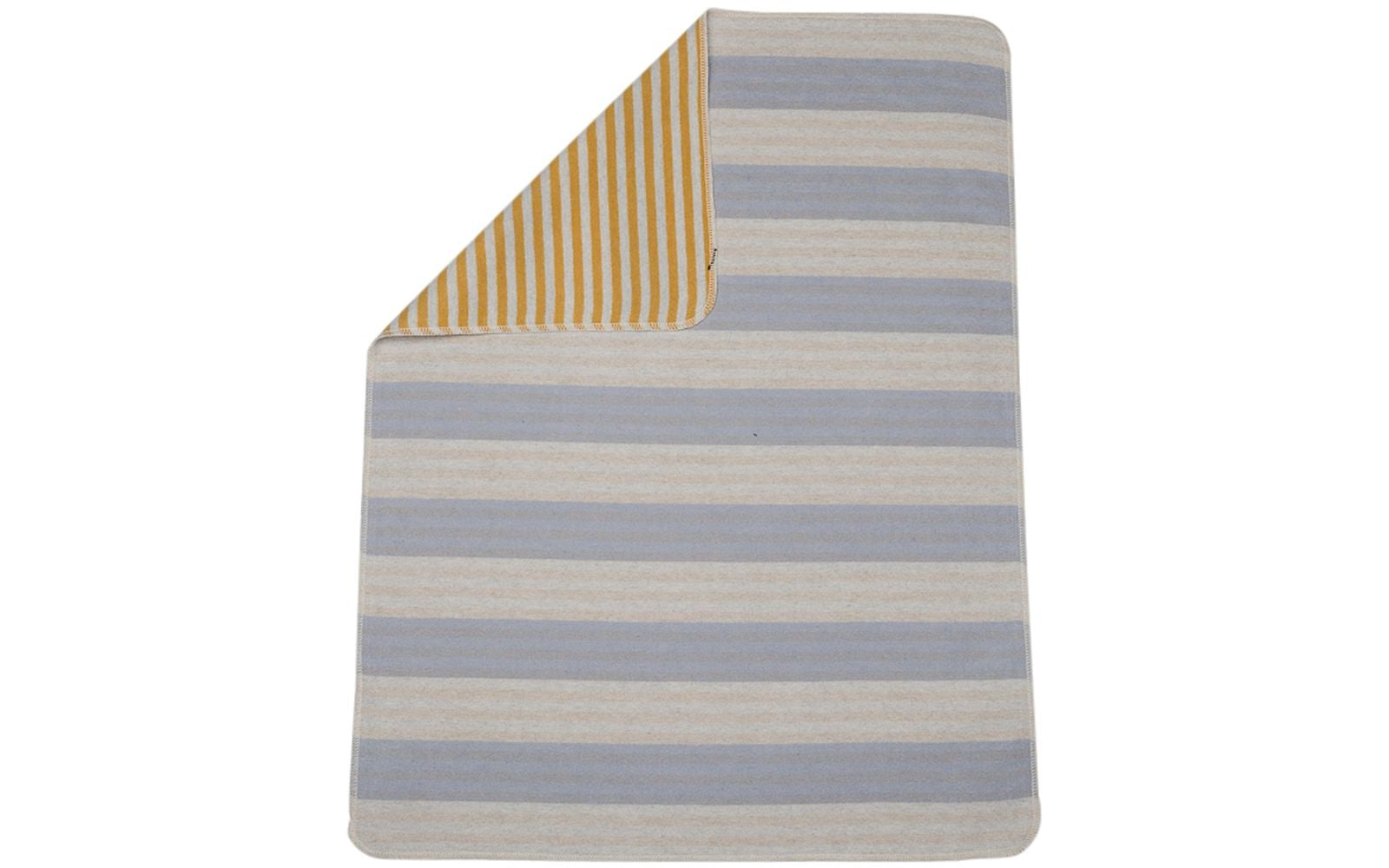 Juwel Blanket/Stripes/Blue