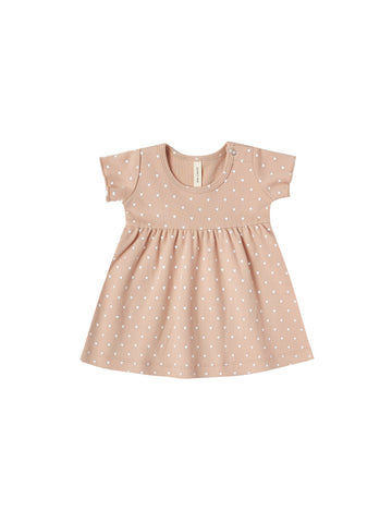SHORT SLEEVE BABY DRESS/PETAL