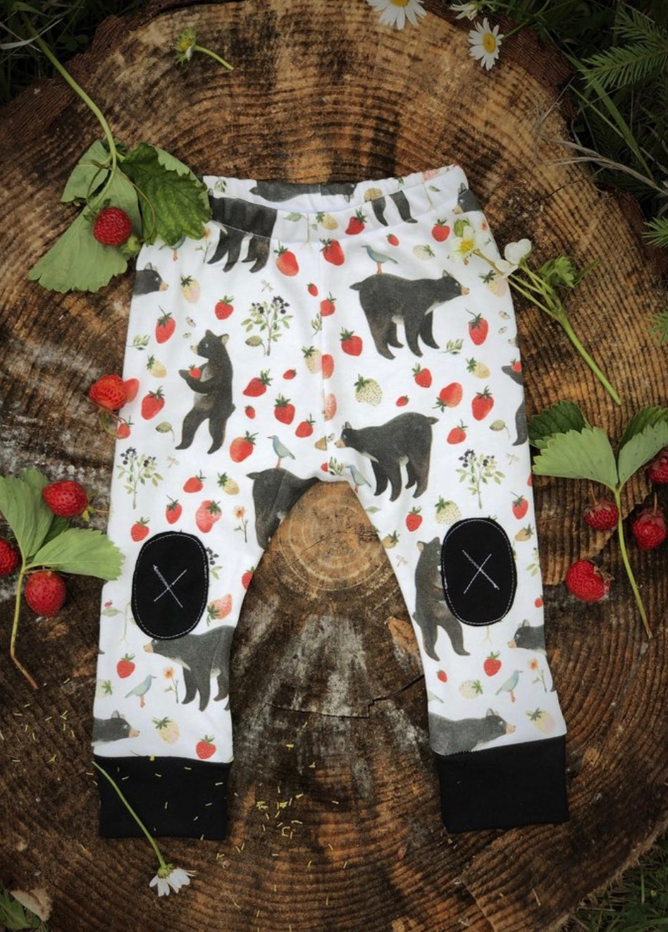 Alpine Baby Leggings/Beary Sweet