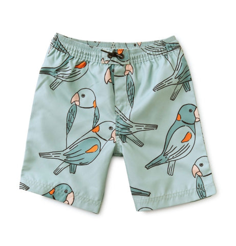 FULL LENGTH SWIM TRUNK/PARAKEETS