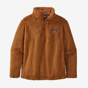 Boys' Los Gatos 1/4 Zip/Wood Brown