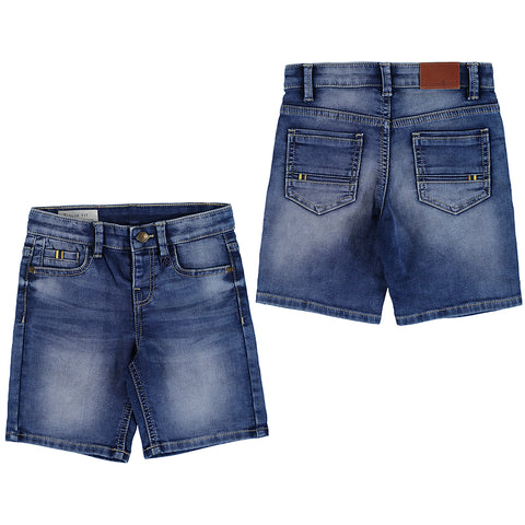 denim soft shorts