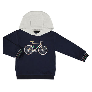 Bicycle pullover-navy