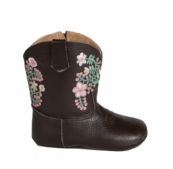 CHOCOLATE JULIET COWGIRL BOOTS