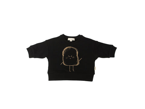 The Bamboo Fleece Sweatshirt/Black Toast