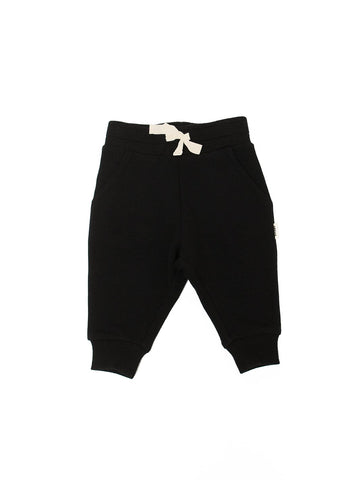 The Bamboo Fleece Sweatpant/Black