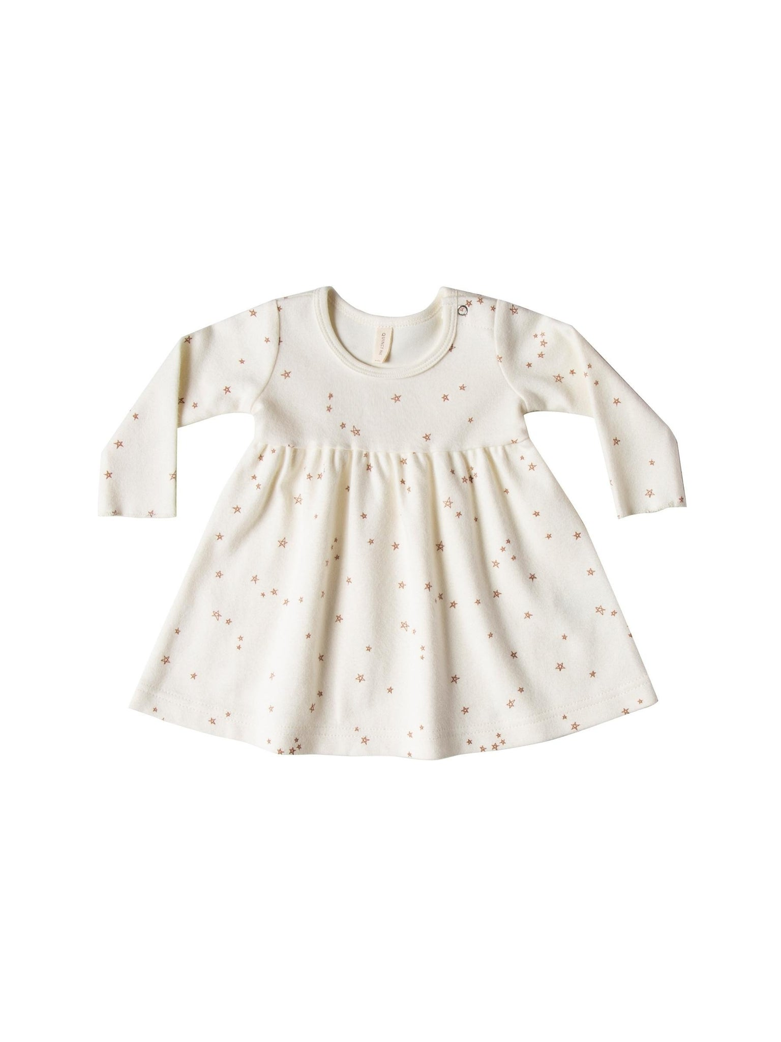 Longsleeve Baby Dress/ivory