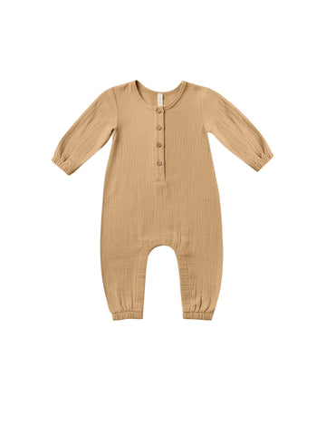 Woven Jumpsuit/Honey