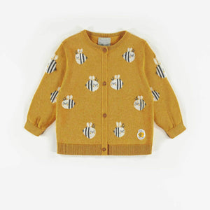 Organic Knit Sweater-Bee