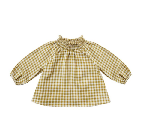 Gingham Audrey Blouse