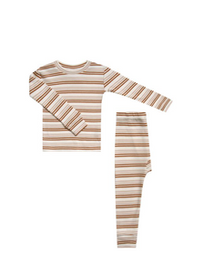 Striped Pajama Set