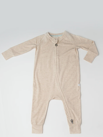 Sleeper in TENCEL™ - Heather Oatmeal