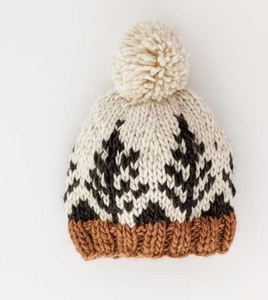 Forest Knit Beanie Hat