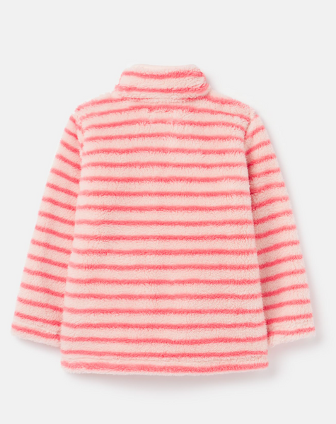 Merridie Cosy Fleece-Pink Stripe