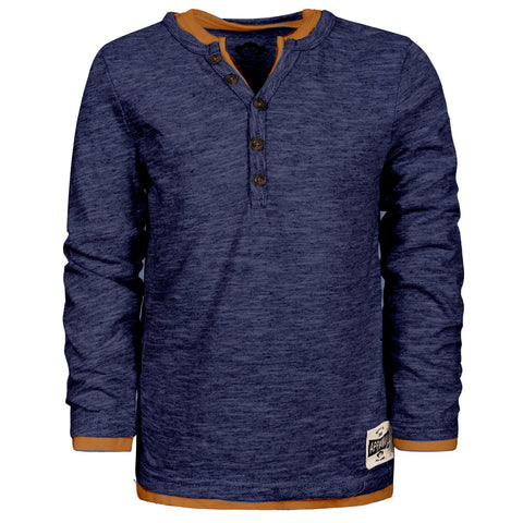 CAMDEN LONG SLEEVE SHIRT/DARK NAVY