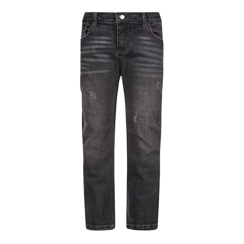 SLIM LEG DENIM/Grey Wash