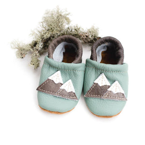 Shoes with Designs - Mint mtns