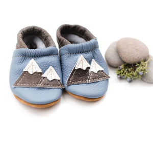 Shoes with Designs - Big Sky mtns