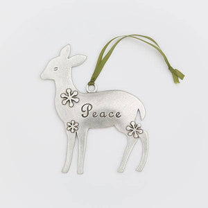 DEER PEACE ORNAMENT