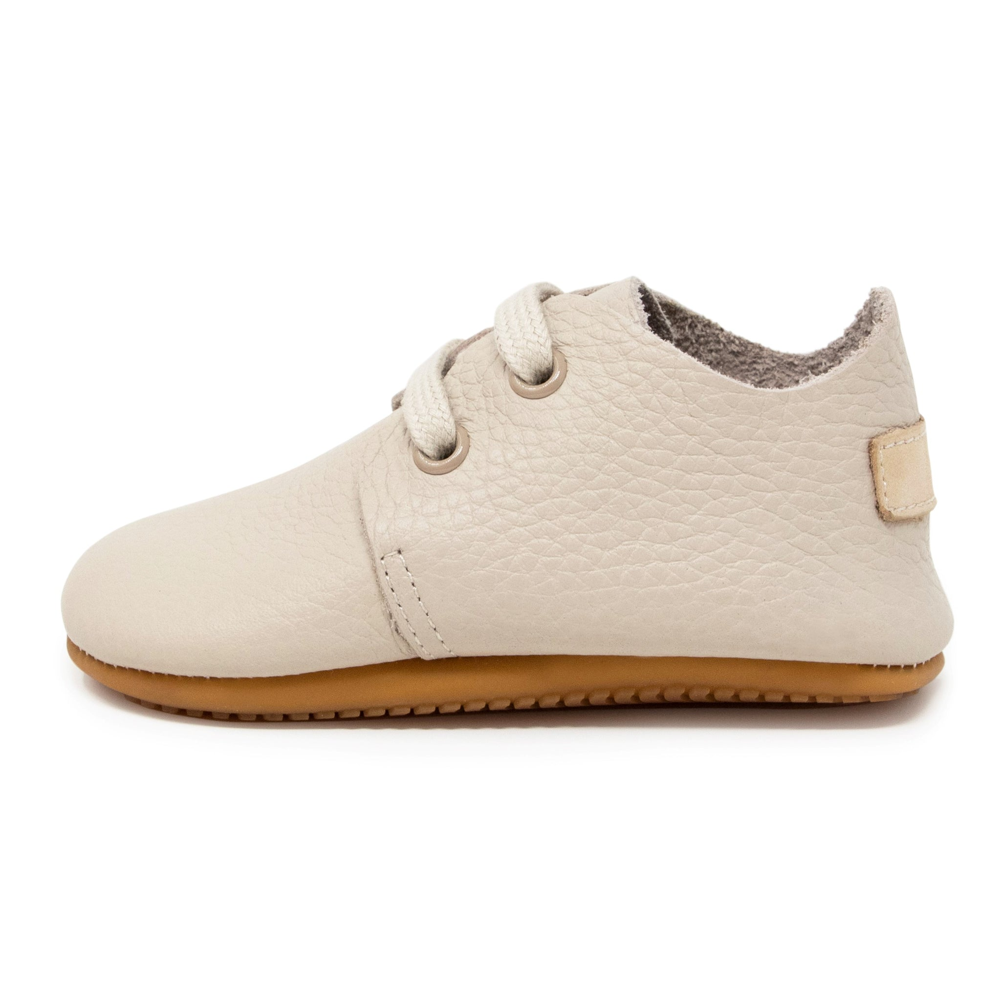 Oxford Baby Genuine Leather Shoes - Beige