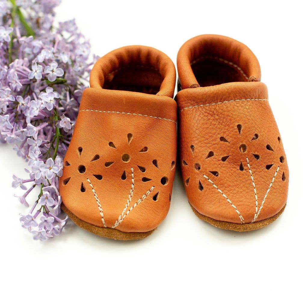 Carrot Blossoms Baby Shoes