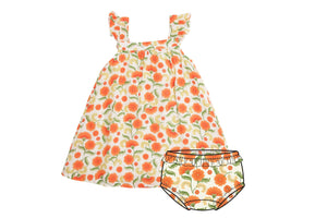 Marigold Swirl Sundress/Orange