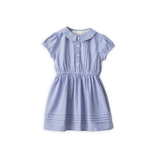 Sawyer Dress | Country Blue Check