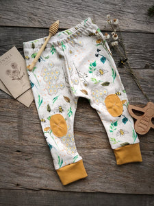 Alpine Baby Leggings/Garden Bee