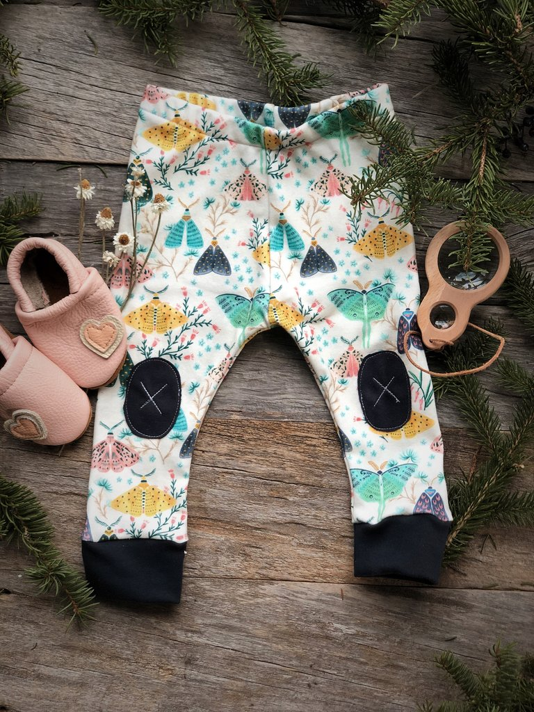Alpine Baby Leggings/Moths