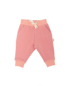 The Bamboo Fleece Sweatpant/Pink
