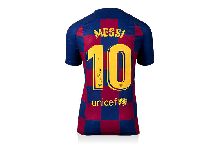 Win A FC Barcelona Shirt Signed By Lionel Messi