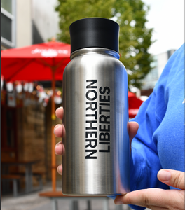 Stainless beverage bottle